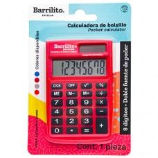 CALCULADORA BARRILITO 8045CBB 8 DIGITOS