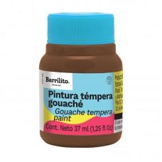 PINTURA BARRILITO TEMPERA NO.531 MARRO C/6