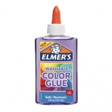 PEGAMENTO ELMERS COLOR GLUE 147 ML. MORADO