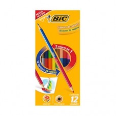 COLORES BIC KIDS DUO 12X24