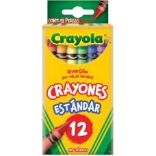 CRAYONES CRAYOLA CON 12 COLORES