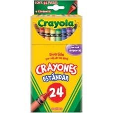 CRAYONES CRAYOLA CON 24 COLORES