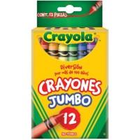 CRAYONES CRAYOLA JUMBO CON 12