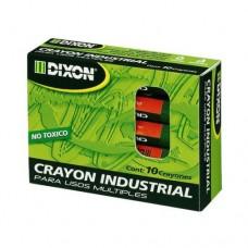 CRAYON INDUSTRIAL NEGRO 144 CAJA C/10