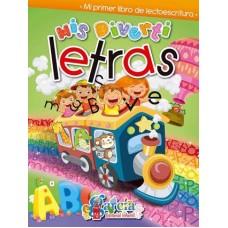 LIBRO DE ACTIVIDADES MIS DIVERTILETRAS