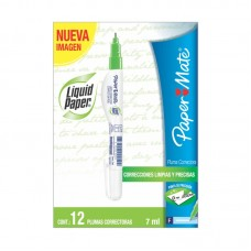 PLUMA CORRECTORA     NEEDLE POINT CAJA C/12