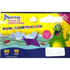BLOCK NORMA CONSTRUCCION DOBLE CARTA C/40 HOJAS