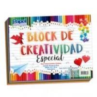 BLOK DE CREATIVIDAD PADI DE COLORES C/50 HOJAS MOD. 977-9
