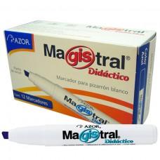 MARCADOR MAGISTRAL DIDACTICO 8350AZ C/12