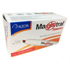 MARCADOR MAGISTRAL DIDACTICO 8350RO C/12