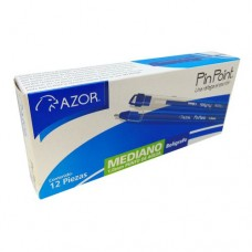BOLIGRAFO AZOR PIN POINT P/MEDIANO AZUL