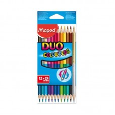 COLORES MAPED DUO COLOR PEPS 12X24 PZAS.