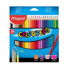 COLORES MAPED COLORS PEPS C/24 PZAS.