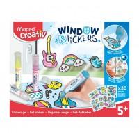 KIT MAPED CREATIV WINDOW STICKERS