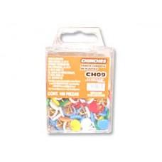 CHINCHES ACME DE COLORES MOD.CH09 C/100