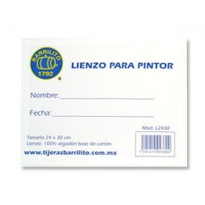LIENZO BARRILITO 24X30 CM MOD. L2430 PTE. C/3