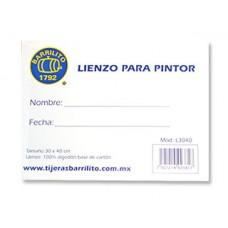 LIENZO BARRILITO 30X40 CM MOD. L3040 PTE. C/2