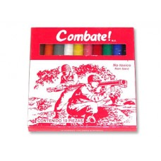PLASTILINA C/10 BARRAS COMBATE