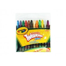 CRAYON CRAYOLA  MINI TWISTABLES C/12 PZAS.