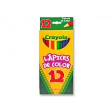 COLORES CRAYOLA C/12 COLORES LARGOS