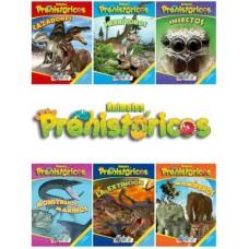 LIBRO COLECCION ANIMALES PREHISTORICOS