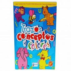 LIBRO DE TRAZOS CONCEPTOS Y COLORES GARCIA