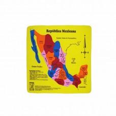 MAPA REPUBLICA MEXICANA EN FOMI