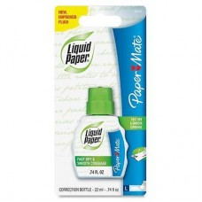CORRECTOR FAST DRY PAPER MATE 22 ML.