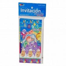 INVITACION BONSA PTE. C/10 BABY SHOWER