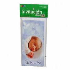 INVITACION BONSA PTE. C/10  BAUTIZO
