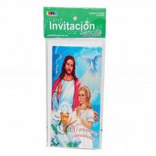 INVITACION BONSA PTE. C/10 PRIMERA COMUNION