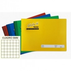 CUADERNO COSIDO ITALIANO STRIKE BASIC 100 H. 5 MM
