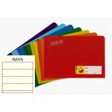 CUADERNO COSIDO ITALIANO STRIKE BASIC 100 H. DOBLE RAYA