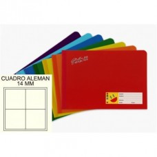 CUADERNO COSIDO ITALIANO STRIKE 100 H. C 14 MM