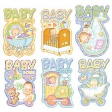 INVITACION BABY SHOWER PADI COD.063 C/6