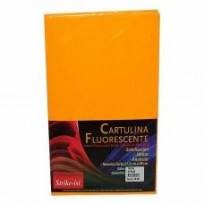 CARTULINA FLUORECENTE STRIKE CARTA PTE. C/50