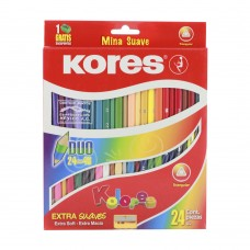 COLORES KORES DUO EXTRASUAVES 12X24 PZAS.