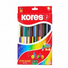 COLORES KORES DUO EXTRASUAVES 24X48 PZAS.