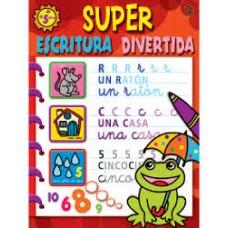 LIBRO DE EJERCICIOS SUPER ESCRITURA DIVERTIDA CPC047