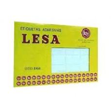 ETIQUETAS  LESA 23 BCA   480 44X44 MM