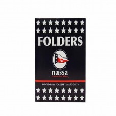 FOLDER CARTA  CREMA NASA PTE. C/100 PZAS.