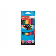 COLORES MAPED COLOR PEPS C/12 LARGOS