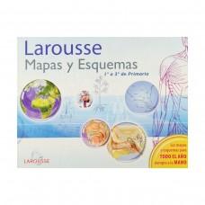 LIBRO DE MAPAS Y ESQUEMAS LAROUSSE 1° A 3° PRIMARIA