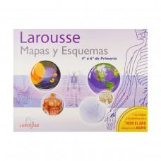 LIBRO DE MAPAS Y ESQUEMAS LAROUSSE 4° A 6° PRIMARIA