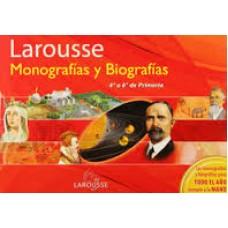 LIBRO DE MONOGRAFIAS Y BIOGRAFIAS DE 4° A 6° PRIMARIA
