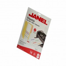ETIQUETA JANEL P/LASER 5266 17X87 MM. C/25 H.