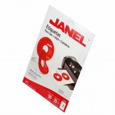 ETIQUETA JANEL P/LASER 5931 PARA CD C/25 H.