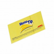 MEMO TIP 6(53) 1.50X2 PUL JANEL AMARILLO PTE. C/12 PZ