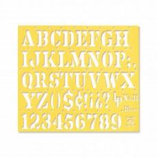 LETRA PLASTICA NO.11 ROMANA 18 MM.