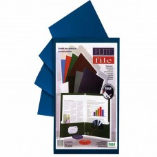 FOLDER ELITE FILE IRASA 3007 PTE. C/5 AZUL MARI